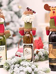 billige -Party Tilbehør Ikke-vævet Jul / Fest / aften Jul / Julemands Dragt / Elk Gaver til gæsterne, dekoration