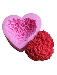 Недорогие -1шт Силикон 3D Творческая кухня Гаджет Торты Шоколад конфеты Формы для пирожных Десертные инструменты Инструменты для выпечки