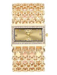 Недорогие -Жен. Нарядные часы Кварцевый Секундомер Cool сплав Группа Аналоговый Винтаж Мода Серебристый металл / Золотистый / Розовое золото - Золотой Серебряный Розовое золото / Нержавеющая сталь