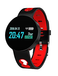 baratos -Indear Q07 Pulseira inteligente Android iOS Bluetooth Esportivo Impermeável Monitor de Batimento Cardíaco Medição de Pressão Sanguínea Tela de toque Podômetro Aviso de Chamada Monitor de Atividade