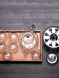 Недорогие -Drinkware стекло Стекло Boyfriend Подарок / Подруга Gift 1 pcs