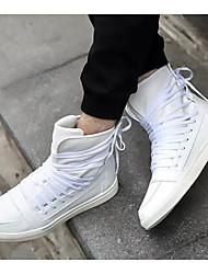 abordables -Homme Chaussures de confort Polyuréthane Printemps & Automne Basket Blanc / Noir / Rouge