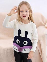 tanie -Dzieci Dla dziewczynek Patchwork Długi rękaw Sweter i kardigan