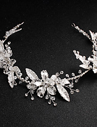 Alloy Hair Accessory with Crystals 1 Piece Wedding / Special Occasion Headpiece