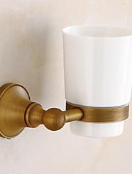 Недорогие -Держатель для зубных щеток Новый дизайн / Cool Modern Латунь 1шт На стену