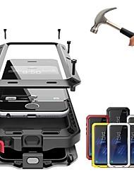 abordables -Coque Pour Apple iPhone XR / iPhone XS Max Antichoc / Etanche à la Poussière / Etanche Coque Intégrale Couleur Pleine Dur Métal pour iPhone XS / iPhone XR / iPhone XS Max