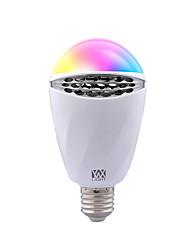 Недорогие -YWXLIGHT® 1шт 6 W 500-600 lm E26 / E27 Умная LED лампа 1 Светодиодные бусины SMD Smart / Диммируемая RGB 90-240 V