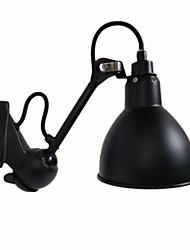 baratos -QINGMING® Estilo Mini Rústico / Campestre / Retro Swing Arm Lights Sala de Estar / Quarto / Lojas / Cafés Metal Luz de parede 110-120V / 220-240V 40 W