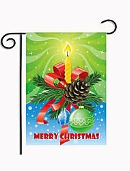 Недорогие -Орнаменты Шёлковая ткань рипсового переплетения Свадебные украшения Рождество / Вечеринка / ужин Новогодняя тематика / Креатив / Урожай Theme Зима