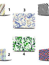 abordables -MacBook Etuis Formes Géométriques PVC pour MacBook Pro 13 pouces / MacBook Pro 15 pouces / MacBook Air 13 pouces