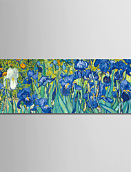 baratos -Estampado Laminado Impressão De Canvas - Abstrato / Lazer Modern