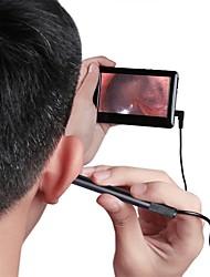 Недорогие -4.3 сохранить дисплей высокой четкости яркий свет ухо забрать ухо нос и горло чистка уха чистка уха эндоскоп эндоскоп