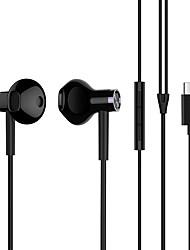 billiga -Xiaomi I öra Kabel Hörlurar Hörlurar Koppar Mobiltelefon Hörlur Stereo / mikrofon / Med volymkontroll headset