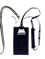 Недорогие -Жен. Мешки PU Мобильный телефон сумка Персонажи Белый / Черный / Светло-золотой