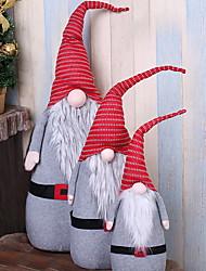 abordables -Noël Vacances / Famille Coton Soirée Décoration de Noël