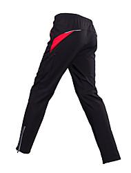 Недорогие -Муж. Велобрюки Велоспорт Нижняя часть Классика Черный / красный Одежда для велоспорта / Слабоэластичная