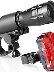 Недорогие -Светодиодная лампа Велосипедные фары Передняя фара для велосипеда Горные велосипеды Велоспорт Водонепроницаемый Анти-шоковая защита Быстросъемный Литий-ионная 160 lm Красный