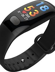 Недорогие -KUPENG B51 Умный браслет Android iOS Bluetooth Спорт Водонепроницаемый Пульсомер Измерение кровяного давления Сенсорный экран ЭКГ + PPG / Израсходовано калорий / Длительное время ожидания / Педометр