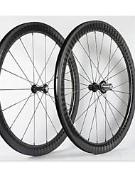 Недорогие -NEASTY 700CC Колесные пары Велоспорт 23 mm / 25 mm Шоссейный велосипед углерод Клинчерная покрышка 20/24 Спицы 50 mm