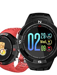 baratos -Indear F18 Pulseira inteligente Android iOS Bluetooth satélite Esportivo Impermeável Monitor de Batimento Cardíaco Medição de Pressão Sanguínea Cronómetro Podômetro Aviso de Chamada Monitor de
