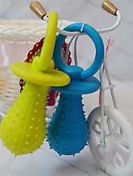 Недорогие -Игрушка для очистки зубов Защита от влаги / Звук Ластик Назначение Собаки / Коты