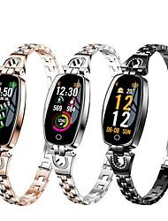 Недорогие -Indear H8 Умный браслет Android iOS Bluetooth Спорт Водонепроницаемый Пульсомер Измерение кровяного давления / Сенсорный экран / Израсходовано калорий / Длительное время ожидания / Педометр