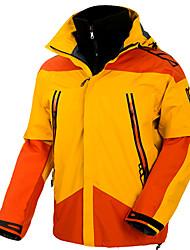 Недорогие -Муж. Лыжная куртка С защитой от ветра, Водонепроницаемость, Дожденепроницаемый Катание на лыжах / Отдых и Туризм / Сноубординг 100% полиэстер Зимняя куртка Одежда для катания на лыжах