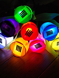 billige -BRELONG® 1pc 0.2 W Lawn Lights Vandtæt / Solar / Kreativ Hvid / Rød / Blå 3.7 V Udendørsbelysning / Gårdsplads / Have