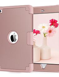 Недорогие -BENTOBEN Кейс для Назначение Apple iPad mini 4 Защита от удара / Ультратонкий Чехол Однотонный Твердый Силикон / ПК для iPad Mini 4