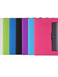 Недорогие -Кейс для Назначение Lenovo Ленова Йога Tab 3 10.1 (YT3-X50F / M) Защита от удара / Ультратонкий Чехол Однотонный Мягкий силикагель для Ленова Йога Tab 3 10.1 (YT3-X50F / M)