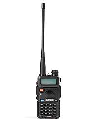 baratos -walkie-talkie baofeng® uv-5r 5 km-10 km 1800 mah 5w rádio em dois sentidos