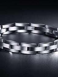 Недорогие -Z&x® европейском стиле роскошных 1.5cm ширина титана стали мужские браслеты (подходит для чувствительной кожи)