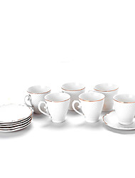 Недорогие -Drinkware Кофейные чашки Фарфор Boyfriend Подарок / Подруга Gift Чаепитие / На каждый день
