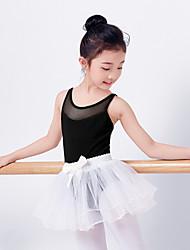 billiga -Balett Outfits Flickor Träning Elastan Kombination Ärmlös Hög Kjolar / Trikå / Onesie