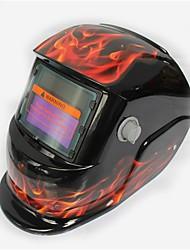 Недорогие -солнечный автомат потемнения сварочный шлем модель 107 пламя
