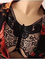 Недорогие -Женский Сексуальные платья Кружевной бюстгальтер Бюстгальтер Закрытый - Вышивка