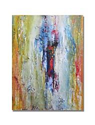 Недорогие -styledecor® современная ручная роспись абстрактная красочная толстая текстура маслом на холсте для настенного искусства, готовая повесить искусство