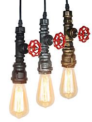 Недорогие -OYLYW Мини Подвесные лампы Рассеянное освещение Окрашенные отделки Металл Мини, труба 110-120Вольт / 220-240Вольт