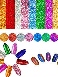 Недорогие -9 pcs 3D наклейки на ногти Креатив маникюр Маникюр педикюр Лучшее качество / Оригинальные Милая / Мода Повседневные