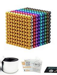 Недорогие -1000 pcs 3mm 5mm Магнитные игрушки Магнитные шарики Магнитные игрушки Конструкторы Сильные магниты из редкоземельных металлов Неодимовый магнит Магнитный / Стресс и тревога помощи