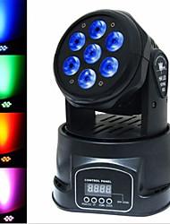 Недорогие -сценическое освещение led7 небольшой движущийся головной свет светодиодный полный цвет световой луч света лазерный свет ktv свадьба движущийся головной свет бар свет