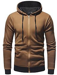 abordables -Homme Pantalon - Couleur Pleine Blanc XL / Capuche / Sports / Manches Longues