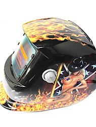 Недорогие -солнечный авто потемнение сварочный шлем 107 красота