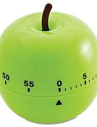 cheap -60 mins Apple Shaped Mechanical Kitchen Timer Cooking Count Down
