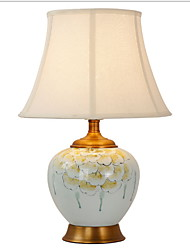 billiga -Artistisk Dekorativ Bordslampa Till Sovrum / Studierum / Kontor Keramik 220V