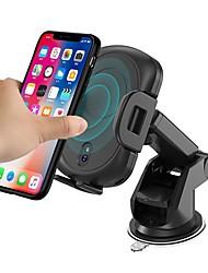 Недорогие -Беспроводное зарядное устройство Зарядное устройство USB USB с кабелем / QC 3.0 / Qi 1 USB порт 1.5 A / 2 A DC 9V для iPhone X / iPhone 8 Pluss / iPhone 8