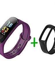 Недорогие -KUPENG B37S Умный браслет Android iOS Bluetooth Smart Спорт Водонепроницаемый Пульсомер Измерение кровяного давления / Сенсорный экран / Израсходовано калорий / Длительное время ожидания / Педометр
