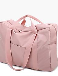 """Недорогие -Ткань """"Оксфорд"""" Сплошной цвет Дорожная сумка Молнии Сплошной цвет Черный / Серый / Розовый"""