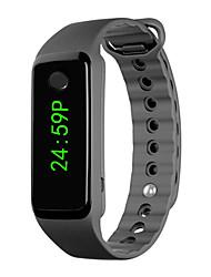Недорогие -Муж. Спортивные часы электронные часы Цифровой силиконовый Черный Календарь Секундомер Фосфоресцирующий Цифровой Блестящие Мода - Черный Один год Срок службы батареи / SSUO 377