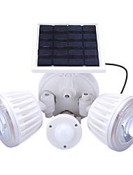 Недорогие -1шт 4.5 W / 2 W Светодиодный уличный фонарь / Солнечный свет стены Работает от солнечной энергии / Инфракрасный датчик / Декоративная Белый 3.7 V Уличное освещение / двор / Сад 2 Светодиодные бусины